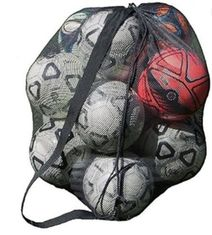 China Foldable Mesh Basketball Bag Large Capacity With Drawstring Closure supplier